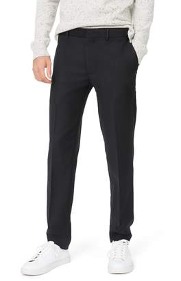 Club Monaco Sutton Trim Fit Stretch Wool Blend Pants