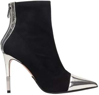 Balmain Blair Metallic Detailed Stiletto Bootie