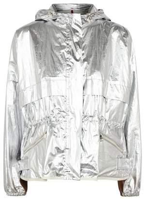 Moncler Jais Silver Coated-cotton Jacket