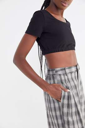 Project Social T Nikkita Cropped Short Sleeve Top