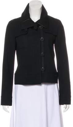 Burberry Wool Zip Jacket