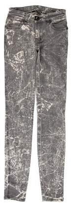 Plein Sud Jeanius Low-Rise Skinny Jeans