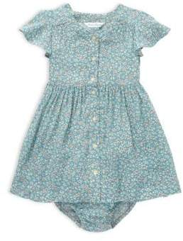 Ralph Lauren Baby Girl's Floral Two-Piece A-Line Dress& Bloomers Set
