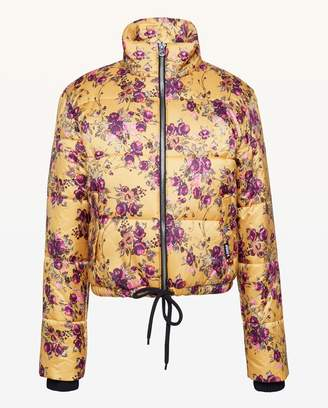 Juicy Couture JXJC Etched Floral Puffer Jacket