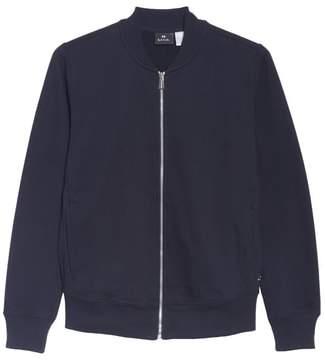 Paul Smith Zip Knit Bomber Jacket