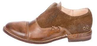 Bed Stu Leather Laceless Oxfords