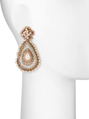 Capri Colette Hannah Beaded Teardrop Earrings