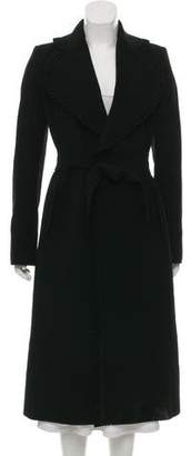 Antonio Berardi Wool & Cashmere Long Coat