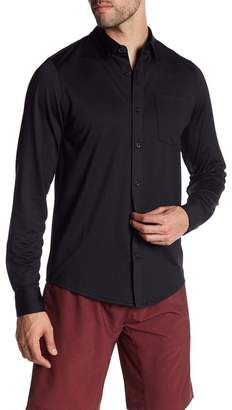 Travis Mathew Ullman Long Sleeve Button Down Shirt