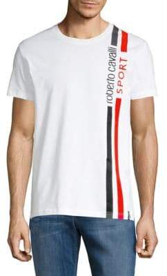 Roberto Cavalli Logo Short-Sleeve Tee