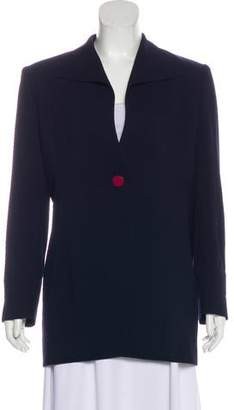Lanvin Wool Short Coat
