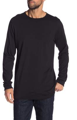 Hudson Jeans Elongated Long Sleeve Tee