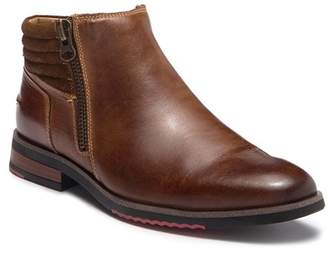 Steve Madden Kingpin Leather Zip Boot