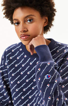 Champion Reverse Weave Cutoff Cropped Sweatshirt