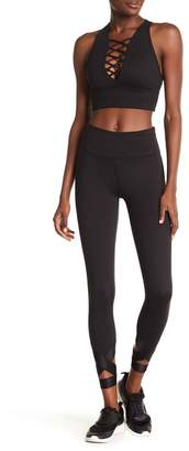 Betsey Johnson Banded Wrapped Ankle Leggings