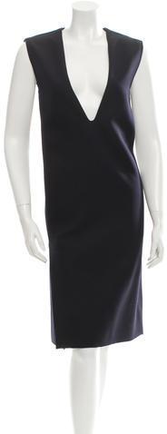 CelineCéline Wool Midi Dress w/ Tags