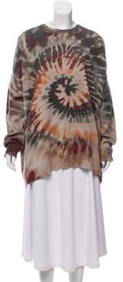 Valentino Tie-Dye Cashmere Sweater