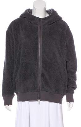 ATM Anthony Thomas Melillo Hooded Zip-Up Jacket
