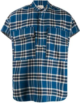 Fear Of God checked polo top