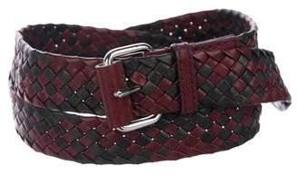 3.1 Phillip Lim Leather Bicolor Belt