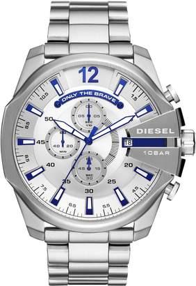 Diesel R) Mega Chief Chronograph Bracelet Watch, 51mm
