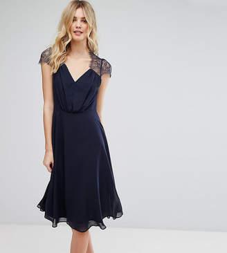 Asos Tall TALL Kate Lace Midi Dress
