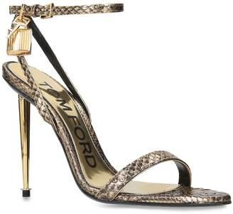 Tom Ford Snakeskin Maison Sandals 50
