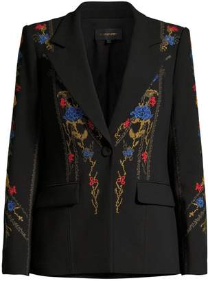 Kobi Halperin Carolyn Floral Embroidered Jacket