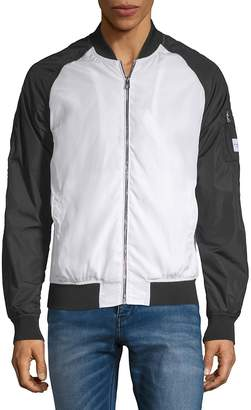 Calvin Klein Jeans Men's Colorblock Bomber Jacket