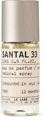 Le Labo (ルラボ) - Le Labo - Santal 33 Eau De Parfum, 15ml
