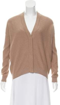 Brunello Cucinelli Light Brown Cashmere Cardigan
