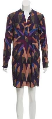 Mara Hoffman Long Sleeve Geometric Print Dress w/ Tags