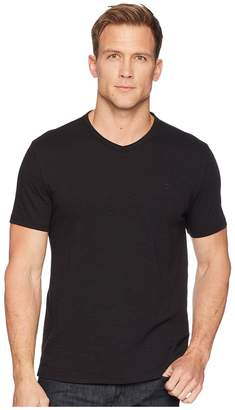Calvin Klein Jeans Mixed Media V-Neck Tee Men's T Shirt