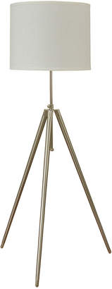 Stylecraft Style Craft 67In Brushed Steel Floor Lamp