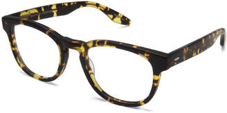 Barton Perreira Men's Byron Universal Fit Square Optical Frames, Matte Heroine Chic