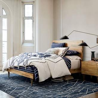 west elm Roar + RabbitTM Brass Geo Inlay Bed