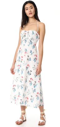 BB Dakota Dawn Floral Midi Dress $130 thestylecure.com