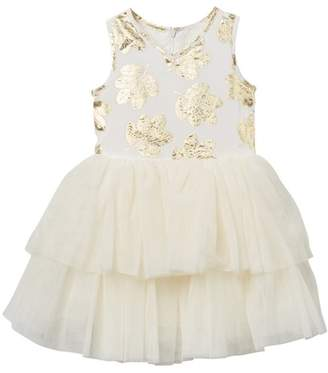 Pippa & Julie 2 Tier Tutu Dress (Toddler & Little Girls)