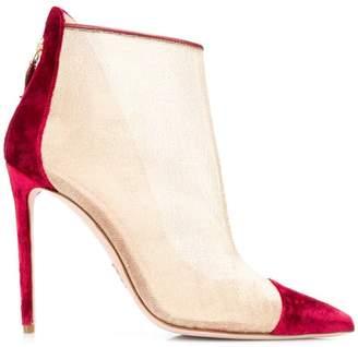 Oscar Tiye stiletto ankle boots