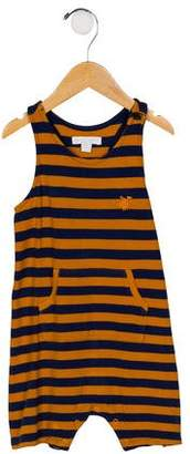 Burberry Boys' Striped Knit Overalls