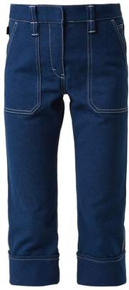 Chloé Mid Rise Cropped Jeans - Womens - Denim