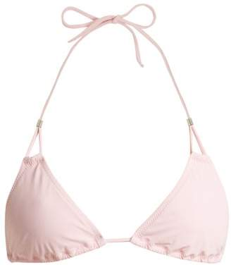 Heidi Klein Moyo Island Halterneck Bikini Top - Womens - Light Pink
