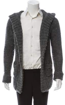 Alexander Wang Hooded Knit Cardigan