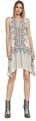 BCBGMAXAZRIA Kamara Asymmetrical A-Line Dress