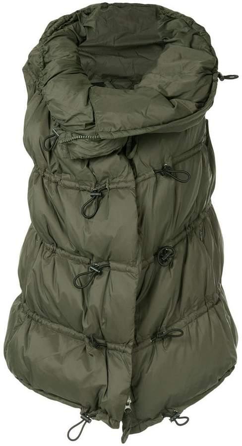 Rundholz Black Label sleeveless puffer jacket