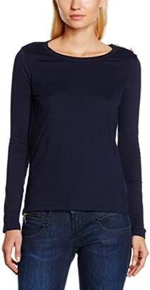 Petit Bateau Women's 20844 Long Sleeve T - Shirt - Blue - 8 (XS)