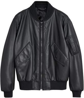 Burberry textured bomber jacket