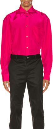 Givenchy Long Sleeve Shirt in Fuchsia | FWRD