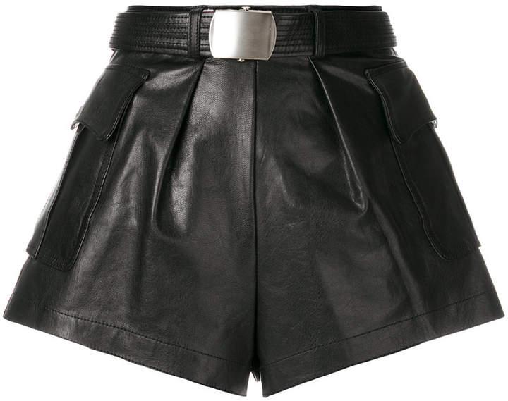 flared style shorts