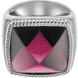 Esprit Magic Square Berry ESRG91671A170 Sterling Silver 926 Cubic Zirconia Ring Size M